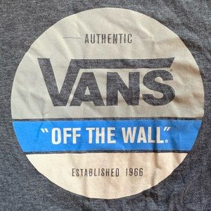 Vans Size Medium T shirt